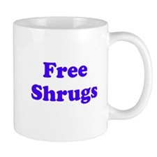 Free Shrugs Mugs