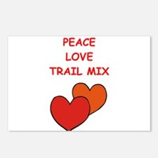 trail mix Postcards (Package of 8)
