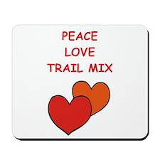 trail mix Mousepad