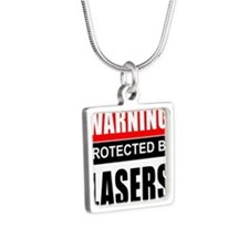 Warning Lasers Necklaces