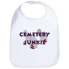 Cemetery Junkie Bib