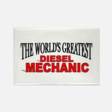 """The World's Greatest Diesel Mechanic"" Rectangle M"