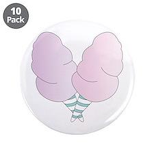"""CottonCandy 3.5"""" Button (10 pack)"""