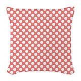 Coral Woven Pillows