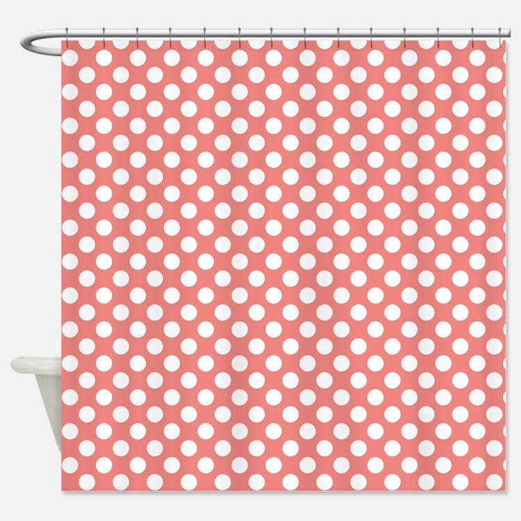 Coral Shower Curtains Coral Fabric Shower Curtain Liner