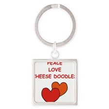 cheese doodle Keychains