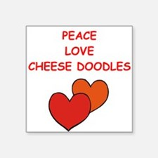 cheese doodle Sticker