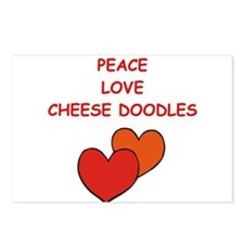 cheese doodle Postcards (Package of 8)