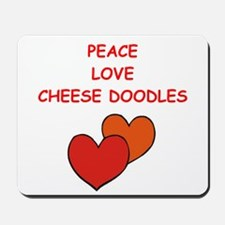cheese doodle Mousepad
