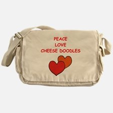 cheese doodle Messenger Bag