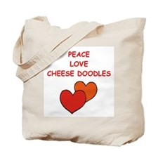 cheese doodle Tote Bag