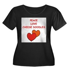 cheese doodle Plus Size T-Shirt
