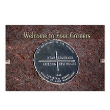 Welcome to Four Corners M Postcards (Package of 8)