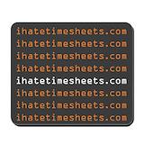 Timesheets Classic Mousepad