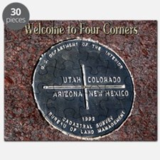 Four Corners Monument in Navajo Nation USA Puzzle