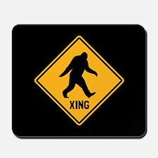 Bigfoot Crossing Mousepad