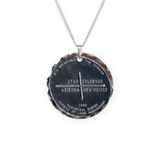 Four Corners USA Geographica Necklace