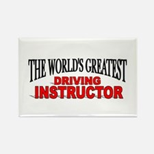 """The World's Greatest Driving Instructor"" Rectangl"