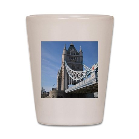 Tower Bridge London England UK Shot Glass