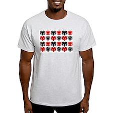 Albanian Eagle Ash Grey T-Shirt