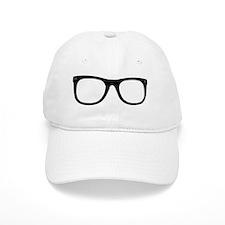 glasses cut out Baseball Cap