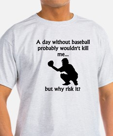 A Day Without Baseball T-Shirt