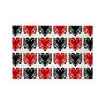 Albanian Eagle Rectangle Magnet (100 pack)