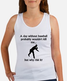 A Day Without Baseball Tank Top