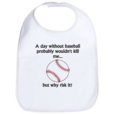 A Day Without Baseball Bib