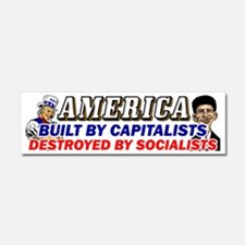 Destroyed By Socialists! Car Magnet 10 X 3
