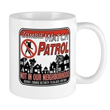Zombie Watch Patrol Mugs