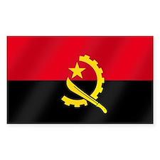 Flag of Angola Bumper Stickers