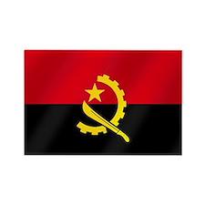 Flag of Angola Rectangle Magnet