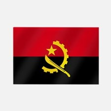Flag of Angola Rectangle Magnet