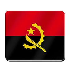Flag of Angola Mousepad