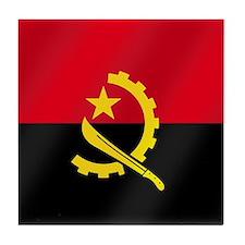 Flag of Angola Tile Coaster