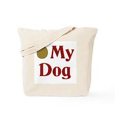Olive My Dog Tote Bag