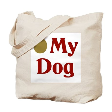 Olive My Dog Tote Bag