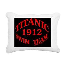 SwimTeam10x10embRound Rectangular Canvas Pillow