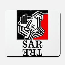 Sartre Philosophy Existentialism Mousepad