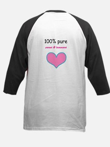 HOT RAGEOUS /100 PERCENT  <3 Kids Baseball Jersey
