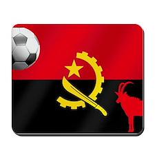 Angolan Football Flag Mousepad
