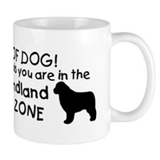 Newfoundland Dog Drool Zone Mug