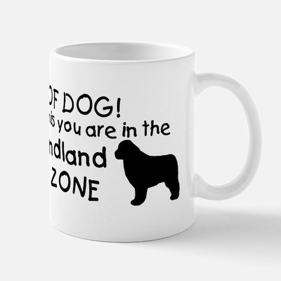 Newfoundland Dog Drool Zone Mug