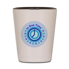 In Due Time Womens Track Suit (Blue.Whi Shot Glass