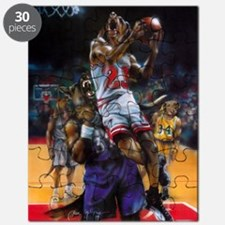 Dogs Playing Basketball Puzzle