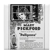Mary Pickford Pollyanna Tile Coaster