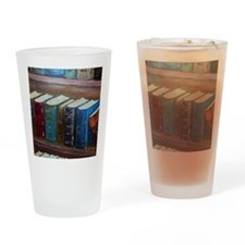 2-Books-2010 Drinking Glass