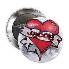 "Jacob Black Tattoo Heart 2.25"" Button"