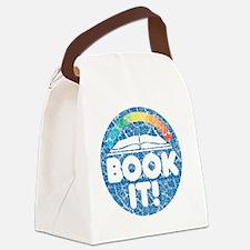bookit_worn_big Canvas Lunch Bag